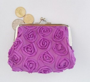 Rose Coin Purse for Lovers