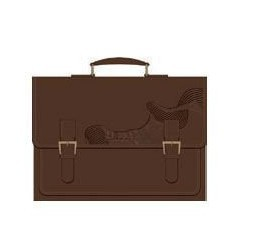 Business Genuine Leather Briefcase