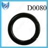 """1""""*5mm Black Color Mini Spring O Ring"""
