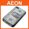 100 Dollar Cash back cover skin for Iphone4