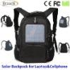 12000mAh Hotsale solar laptop backpack