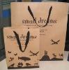 140gsm Brown Kraft Paper Shopping Bag