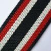 2 inch striped cotton webbing,100% cotton webbing