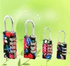 2011 Fashion luggage code lock