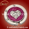 2011 Hot sale heart shanpe bag hanger