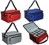 2011 Promotional 12 cans ice bag in 600D polyester with strap