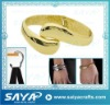 2011 bracelet hanger holder with gold plating