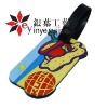 2011 customized PVC Luggage Tags for hotsale