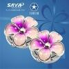 2011 fashion flower shape metal bag hook