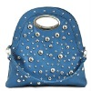 2011 fashion studded bag for ladies