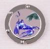 2011 folding Western zodiac constellation alloy handbag holder hook