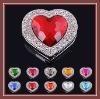 2011  heart shape promotional foldable purse hanger