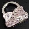 2011 hot sale bag hook keychain