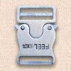 2011 lock metal bag buckle