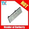 2011 metal name tag K6922