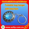 2011 new crystal keychain bag hanger