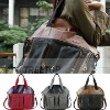 2011 newest casual lady bag for 12'' laptop, high quality canvas laptop bag