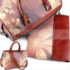 2011 newest pillow style lady canvas & leather bag for ipad 2 bag with a special handle handbag--HOT SELLING!!!