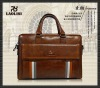 2011 trendy men's cow leather conference bag