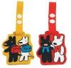 2012 Custom pvc luggage tag for kids