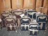 2012 Factory Shandong Silk Travel Trolley bag