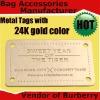 2012 Italian Gold Handbag hardware