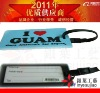 2012 New promotional soft pvc classic luggage tag
