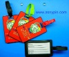2012 Newest soft PVC luggage tag
