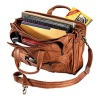 2012 genuine leater notebook bag
