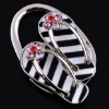 2012 new design folding crystal bag hanger