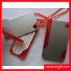 2012new design with pen pvc luggage tag