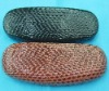 2014 fashion  brown croco  glasses cases