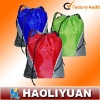 210D polyeser drawstring bag