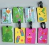 2D/3D Soft PVC /silicone luggage tags for promotional activity