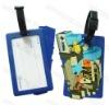 2D Soft PVC Luggage Tag