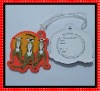2D or 3D soft pvc animal luggage tags