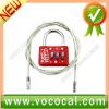 3 Digit Combination Padlock Master Number Locks & Rope
