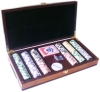 300# chips box set / poker chip case / casino chips set