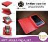 360 Degree Rotary Flip Genuine Leather Case For Amazon Kindle Fire 7 inch tablet Leather Case