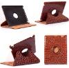 360 Degree stand in Crocodile Grain leather case for ipad 2
