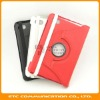 360 Folio Leather Stand Case Cover Protective for Samsung 7.7 Inch Tablet P6800 P6810,Multiangles,3 Colors,OEM welcome