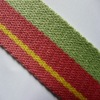 38mm webbing handles for bags,striped webbing bag