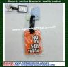 3D Soft pvc luggage tag