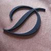 3D plastic brand garments logo designs