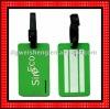 3D soft pvc travel baggage tag FG509