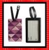 3D soft pvc travel baggage tag FG520