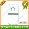 500pcs Matte Hard Stand Case for iPhone 4 4S
