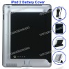 6000 mAh Portable for iPad 2 Battery Charging Cover with Smart Cover(Blue)