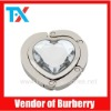 A006 fashion foldable heart bag hanger