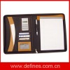 A4 PU leather portfolio